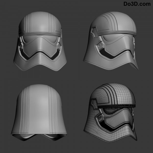 chrome trooper helmet