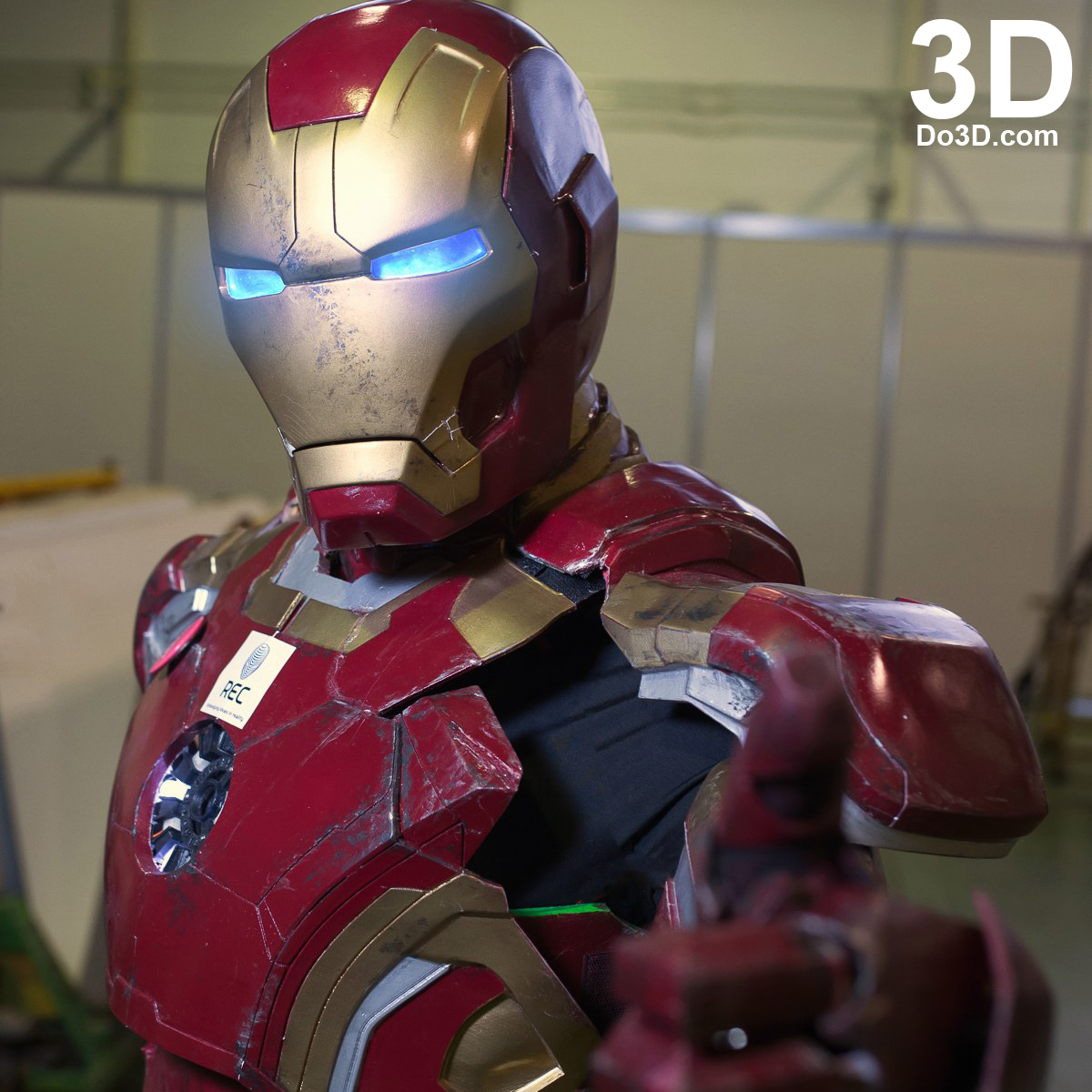 3D Printable Model: Iron Man Mark XLII XLIII Armor (MK 42 ...