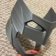 Batman V Superman BVS DOJ Armored Helmet 3D printed by do3d.com 2