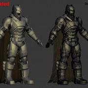 3D printable batsuit from Batman v Superman Dawn of Justice