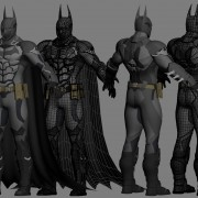 3D printable batsuit from arkham knight batman