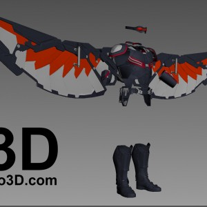 3d-printable-falcon-civil-war-by-do3d-obj-stl