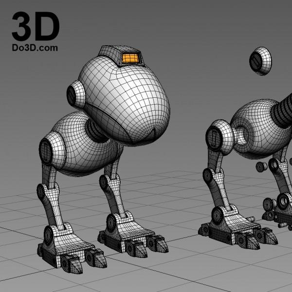 Mouser-robot-3d-printable-by-do3d-com