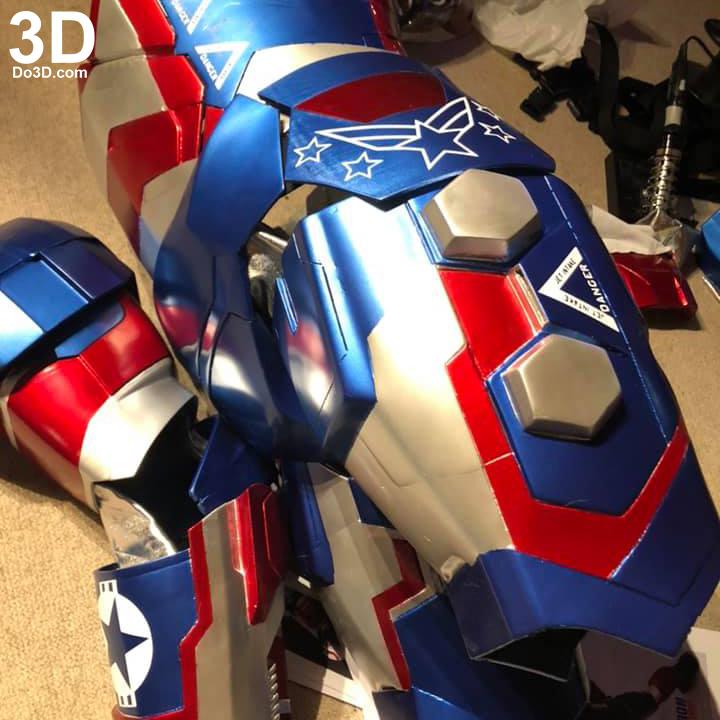 3D Printable Suit: Iron Man Mark II Armor War Machine ...