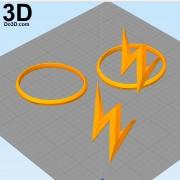 3d-printable-emblem-flash-original-helmet-model-print-file-stl-by-do3d-com