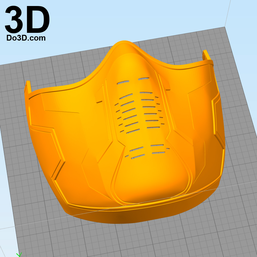 3D Printable Model: Winter Soldier Bucky Goggles (Lens