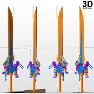 Noctis-Engine-Blade-Final-Fantasy-XV-FFXV-printable-model-3d-print-file-stl-by-do3d-com
