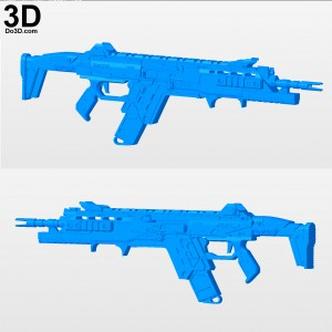 Titanfall-2-R201-SOAR-Blaster-Special-Operations-Assault-Rifle-3d-printable-model-print-file-stl-by-do3d