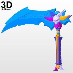 scythe-darksiders-2-3d-printable-model-print-file-stl-by-do3d-com