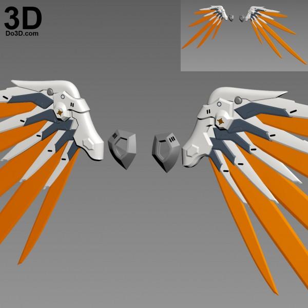 Mercy-Combat-Medic-Ziegler-wings-armor-overwatch-3d-printable-model-print-file-stl-do3d