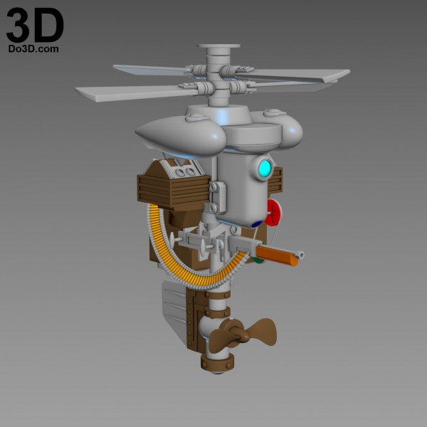 Security-Bot-Bioshock-robot-3d-printable-model-print-file-stl-do3d