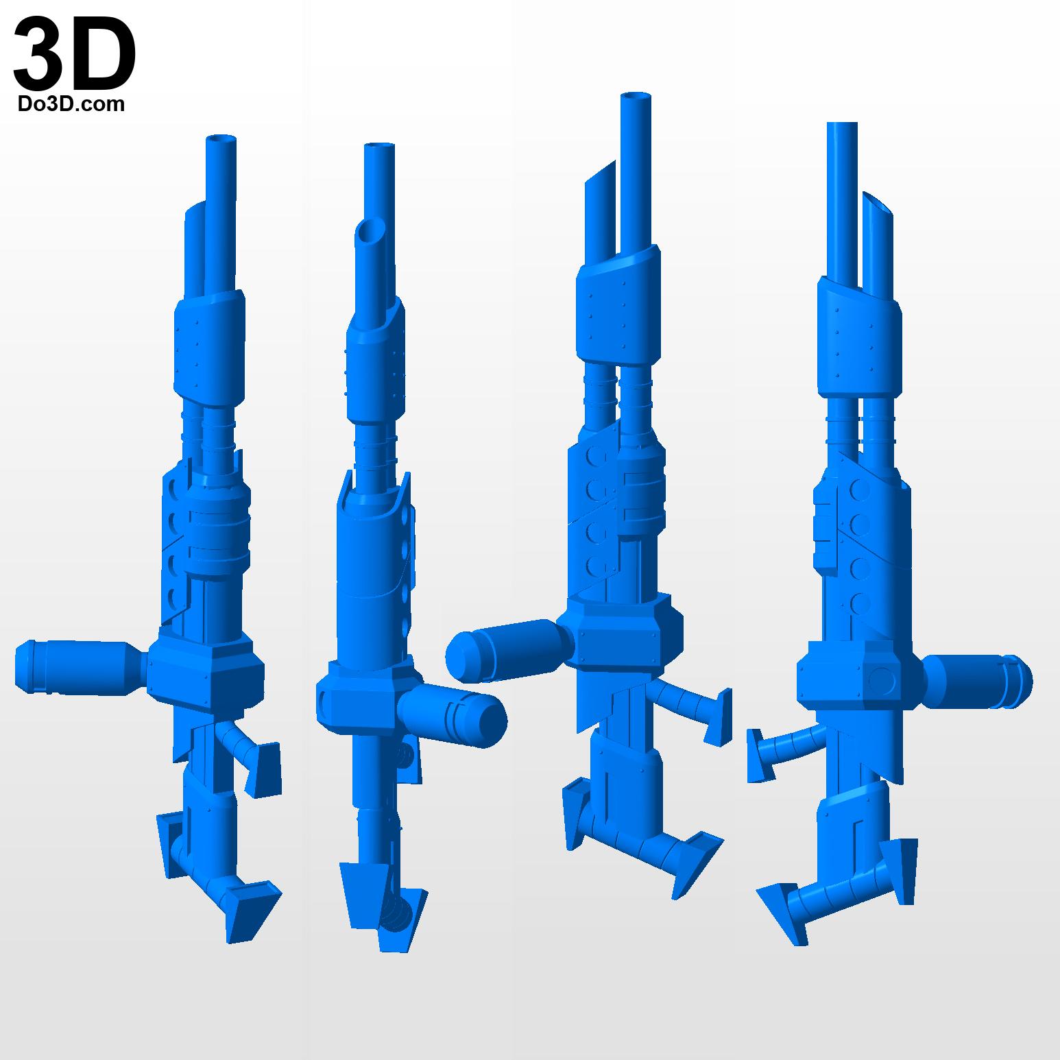 3D Printable Model: The Morph Gun Blaster Jak 2 II And Jak