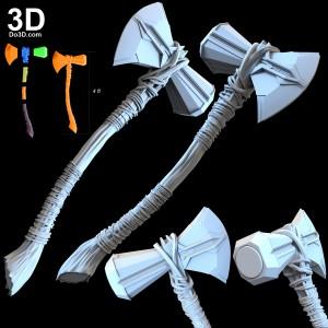 Thor-stormbreaker-axe-avengers-4-infinity-war-weapon-3d-printable-model-print-file-stl-do3d-005