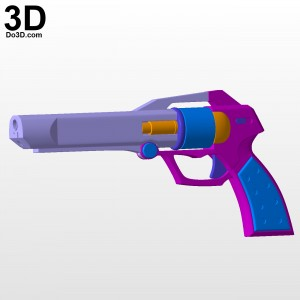 T-elos-Xenosaga-gun-blaster-pistol-3d-printable-model-print-file-stl-do3d