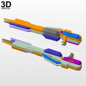 Twin-Buster-Rifle-Blaster-Gun-Gundam-Wingzero-XXXG-00W0-Wing-3d-printable-model-print-file-stl-do3d