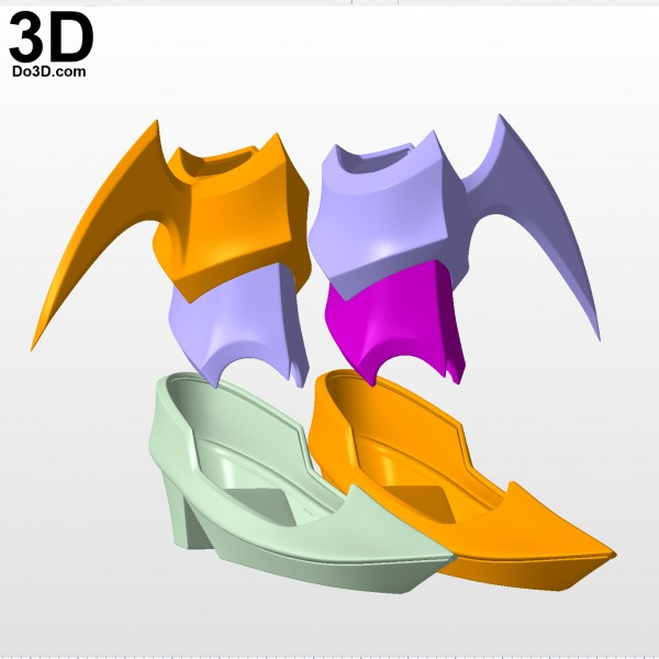 Kingdom-Hearts-Birth-by-Sleep-aqua-ankle-shoes-arm-piece-armor-3d-printable-model-print-file-stl-by-do3d-01