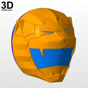 Choujuu-Sentai-Liveman-Bioman-yellow-lion-helmet-3d-printable-model-print-file-stl-cosplay-costume-prop-by-do3d-04