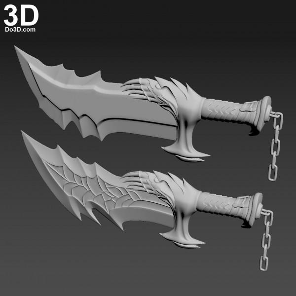 God-of-War-Kratos-Blade-Chaos-sword-knife-3d-printable-model-print-file-stl-do3d