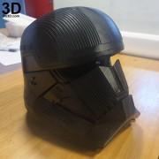 SITH TROOPER STAR WARS THE RISE OF SKYWALKER helmet armor 3d printable print file stl do3d helmet printed 02