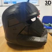 SITH TROOPER STAR WARS THE RISE OF SKYWALKER helmet armor 3d printable print file stl do3d helmet printed 03