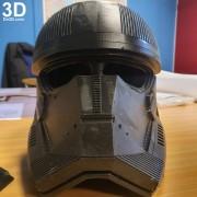 SITH TROOPER STAR WARS THE RISE OF SKYWALKER helmet armor 3d printable print file stl do3d helmet printed 06