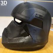 SITH TROOPER STAR WARS THE RISE OF SKYWALKER helmet armor 3d printable print file stl do3d helmet printed 07