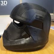 SITH TROOPER STAR WARS THE RISE OF SKYWALKER helmet armor 3d printable print file stl do3d helmet printed 08