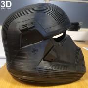 SITH TROOPER STAR WARS THE RISE OF SKYWALKER helmet armor 3d printable print file stl do3d helmet printed 10