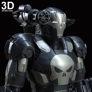 The-Punisher-War-Machine-Armor-SUIT-IRON-MAN-mark-3-civil-war-variant-3D-printable-model-print-file-stl-do3d-cosplay-prop-02