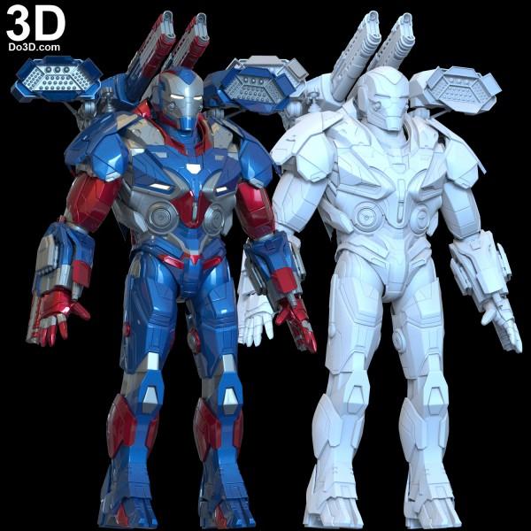 Avengers-Endgame-Iron-Patriot-HYPEBEAST-helmet-armor-suit-3d-printable-model-print-file-stl-do3d