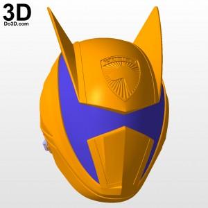 Shadow Ranger Dekamaster Helmet 3d printable model print file stl by do3d 04