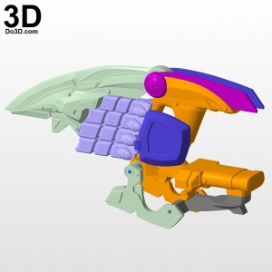 power-rangers-jungle-fury-rhino-ranger-morpher-gun-blaster-3d-printable-model-print-file-stl-by-do3d-04
