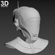 Zorii Bliss star wars The Rise of Skywalker helmet and neck armor 3d printable model print file stl by do3d.jpg-1