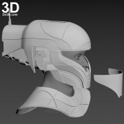 Zorii Bliss star wars The Rise of Skywalker helmet and neck armor 3d printable model print file stl by do3d.jpg-2