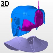 Zorii Bliss star wars The Rise of Skywalker helmet and neck armor 3d printable model print file stl by do3d.jpg-6