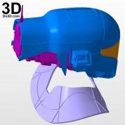 Zorii Bliss star wars The Rise of Skywalker helmet and neck armor 3d printable model print file stl by do3d.jpg-7