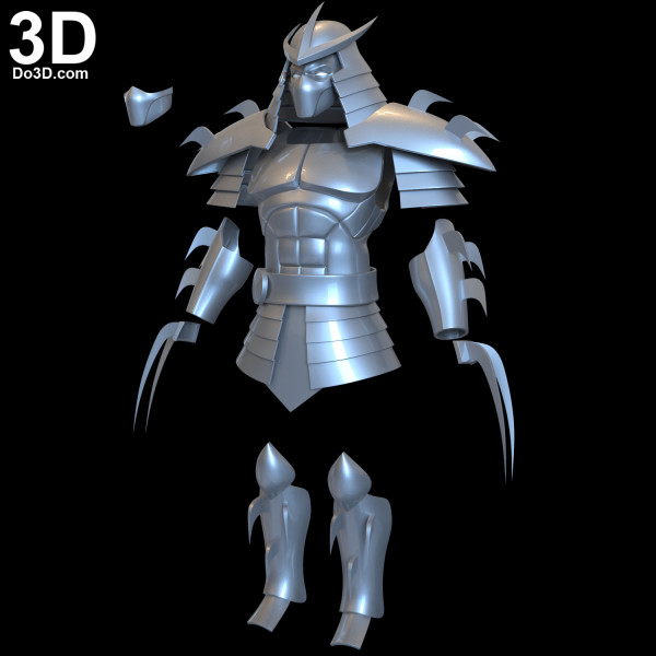 shredder-armor-mask-helmet-teenage-mutant-ninja-turtles-season-1-comic-version-3D printable-model-print-file-stl-fanart-cosplay-prop-by-do3d-04
