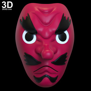 Sakonji-Urokodaki-Mask-Demon-Slayer-Kimetsu-no-Yaiba-3d-printable-model-print-file-stl-cosply-prop-cowl-by-do3d