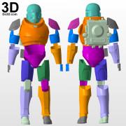 Bad Batch Wrecker 3D Printable Model print file stl cosplay armor helmet by do3d